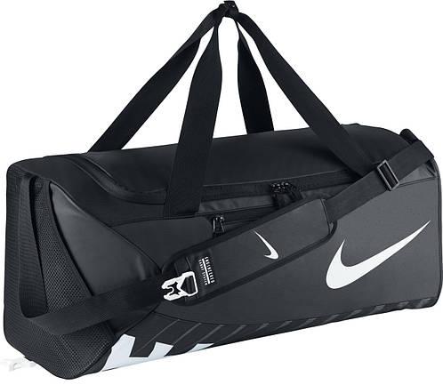 Дорожная спортивная сумка для тренировок 61 л. NIKE ALPH ADPT CRSSBDY DFFL-L BA5181-010 черный