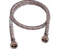 Шланг для подключения воды в алюминиевой оплетке длинной 70 см г/г(Никифоров)