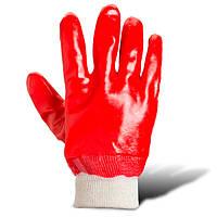 Перчатки рабочие с полным пвх-покрытием (4518) ТМ DOLONI / Украина