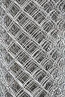 Сетка-рабица оцинкованная 45х45, 2,5мм, Н=1,8м, 10 метров