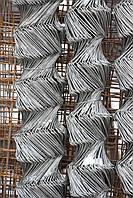 Сетка-рабица ЭКОНОМ оцинкованная 60х60, 1,7мм, Н=1,5м, 10 метров