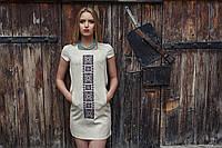 Женское платье-вышиванка Орнамент