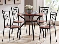 Комплект столовый SIGNAL Ambrozja I (стол+4 стула)