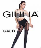 Колготки GIULIA Pari 60 Den с имитацией чулок