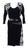 Платье женское батал рукав
