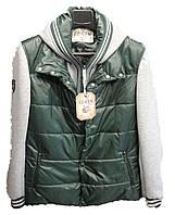 Куртка мужская рукав капюшон