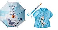 Зонтик и дождевик Disney Frozen в комплекте