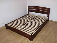 """Двоспальне ліжко """"Селена Аурі"""" з натурального дерева бук Щит"""