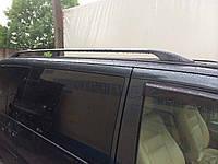 Рейлинги Renault Trafic  (Рено трафик) длин.база, цвет Черный, крепление Abs