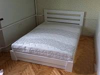 "Двоспальне ліжко ""Селена"" з натурального дерева бук ЩИТ"