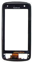 Сенсор (тачскрин) Nokia C6-01 с рамкой Black Original