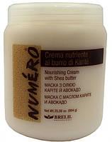 Крем питательный с маслом карите и авокадо для сухих, повреждённых волос, 1000 мл, NUMEROBrelil RBA /58 N
