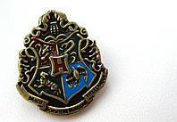 Герб Значок Хогвартс из Гарри Поттера, брошь школы Хогвартс