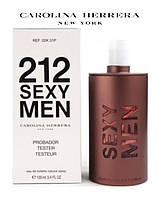 Carolina Herrera 212 Sexy Men tester мужской тестер 100мл Каролина Херрера 212 секси мэн