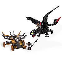 Как приручить дракона 2 - Гигант беззубик IONIX: How To Train Your Dragon 2 - Giant Toothless Battle Set