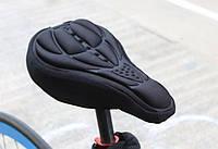Гелевый чехол на велосипедное седло тип 2