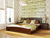 Кровать деревянная Селена Аури с подъемным механизмом Эстелла