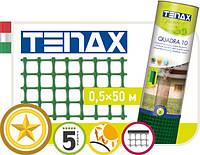 """Сетка полимерная Tenax """"Квадра 10"""" зеленая"""