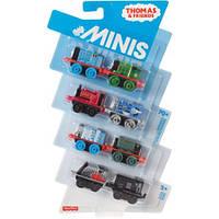 Thomas&Friends Набор мини-паровозиков с прицепом Томас и его друзья, 8 шт./уп.