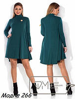 Женское платье свободного кроя из трикотажа джерси различных цветов Размеры от 42 до 56 NM 266