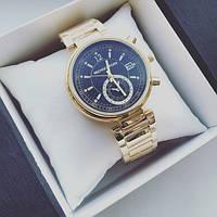Часы женские Michael Kors Selina золотые с черным, магазин наручных часов