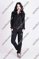 Женский спортивный костюм черного цвета Sport