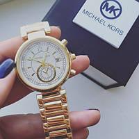 Часы женские Michael Kors Selina золотые, магазин наручных часов