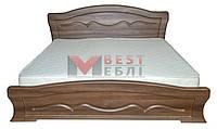 Кровать 1800 Виолетта  (с ламелями / без матраса)