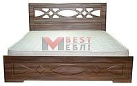 Кровать 1800 Лиана (с ламелями / без матраса)