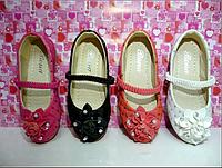 Туфли для девочек на резинке