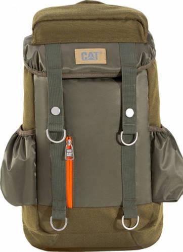 """Городской рюкзак 20 л. с отделом для ноутбука 15,6"""" CAT (Caterpillar) Mochilas 83188;164 темно-зеленый"""