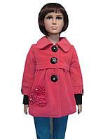 Детское пальто  для девочки Роза