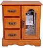 Замечательный шкафчик для украшений King Wood 3012A коричневый