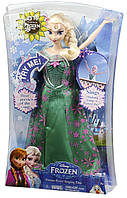 Кукла Эльза поющая Холодное сердце весна Disney Frozen Fever Singing Elsa