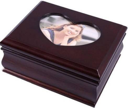 Превосходная шкатулка для украшений King Wood 9001B вишневый