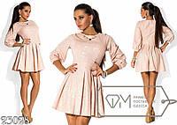 Элегантное молодежное платье ФД525