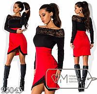 Элегантное молодежное платье ФД524