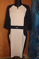 Платье больших размеров Геометрия, р.50,52,54