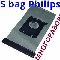 Многоразовый мешок для пылесосов Филипс FC 9170, FC 9174, FC 8396, FC 9071, FC 8655 названием Menalux 1800T