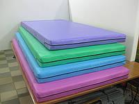 Маты спортивные гимнастические цветные 1х2м повышенной износоустойчивости.