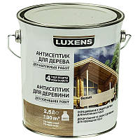 Лазурь для дерева LUXENS белый 2.5л