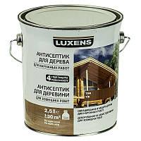 Лазурь для дерева LUXENS тик 2.5л