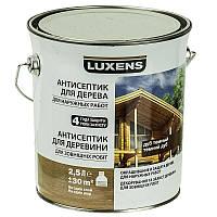 Лазурь для дерева LUXENS темный дуб 2.5л