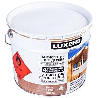 Лазурь для дерева LUXENS белый 10л