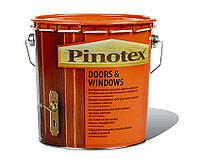 PINOTEX DOORS & WINDOWS Быстросохнущее деревозащитное средство 10л