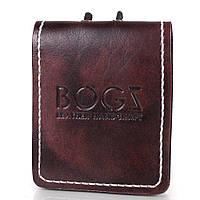 Мужское кожаное портмоне ручной работы  BOGZ (БОГЗ) BZ-4-A112