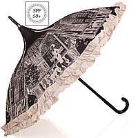 Зонт-трость женский механический с UV-фильтром GUY de JEAN (Ги де ЖАН) FRHSPC-2
