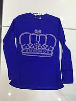 Джемпер для девочек, турецкий Корона 128-176