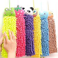 Детское полотенце игрушка из микрофибры Разные варианты