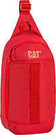 Яркий рюкзак-сумка одношлейковий ч/з плече 2,5 л. CAT Urban Active EVO 83237;03 красный
